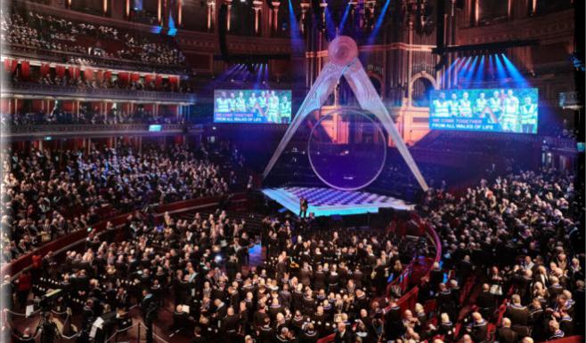 300 Years Of Freemasonry Celebrated At Royal Albert Hall